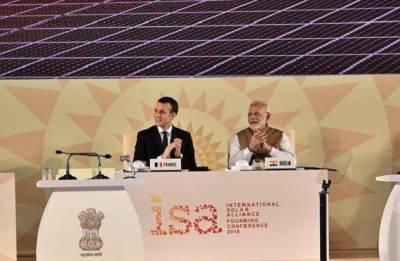USD 1 trillion needed to achieve 1TW solar power capacity By 2030, says French President Emmanuel Macron