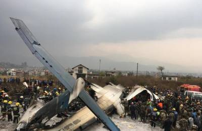 Deadly plane crash at Nepal's Tribhuvan Airport leaves 51 passengers dead, 22 injured