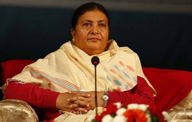 Bidhya Devi Bhandari re-elected as Nepal's President for second term (Source: PTI)