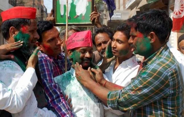 UP Bypolls: Samajwadi Party knocks out BJP in Yogi's Gorakhpur, Phulpur; Mayawati-Akhilesh combo halts saffron wave (File Photo)