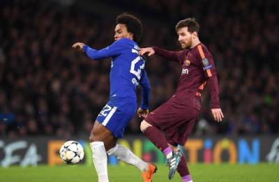 'I think we can do something special' says Chelsea winger Willian ahead of the Champions League tie against Barcelona at Camp Nou