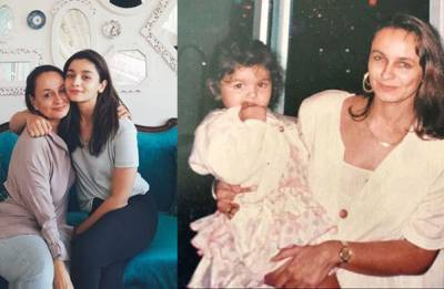 On Alia Bhatt's birthday, mommy Soni Razdan comes with special wish and precious advice for her