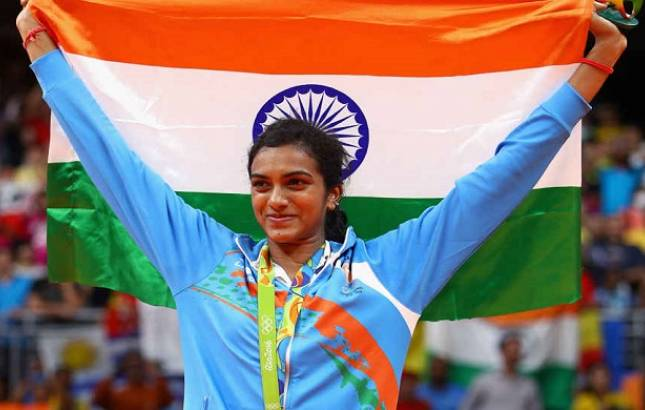 PV Sindhu advanced to quarterfinals after defeating Nitchaon Jindapol on Thursday (Image Source: PTI)