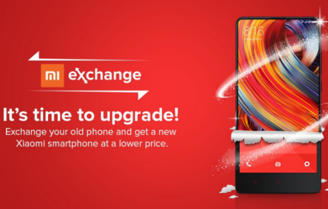 Xiaomi Mi exchange offer: Replace your old phone with a new smartphone (Photo Source: Xiaomi.com)