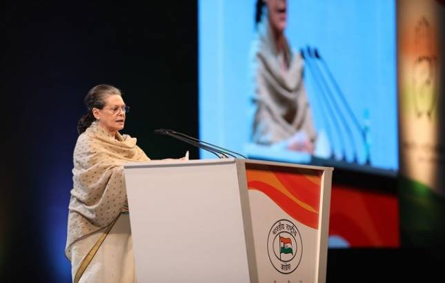 Sonia Gandhi attacks PM, says 'autocratic' Modi government drunk on power (Twitter Image)
