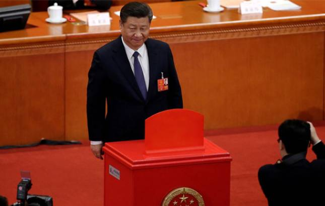 Xi Jinping re-elected as Chinese President, Wang Qishan as Vice Prez (Source: PTI)