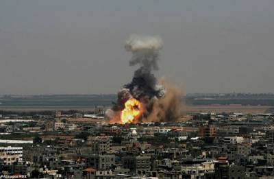 Israel hits Hamas position in response to explosion