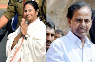Telangana CM KCR likely to meet Mamata Banerjee tomorrow over 'third-party front'
