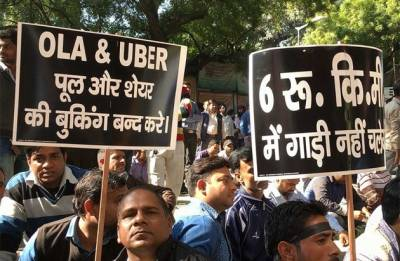 Ola, Uber drivers announce nationwide indefinite strike from today, to gherao Parliament on March 22