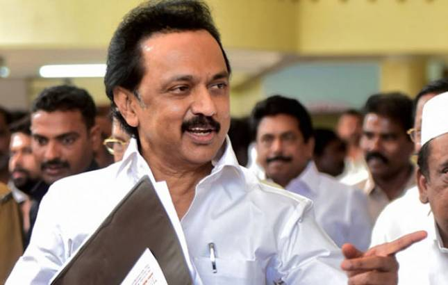 DMK leader MK Stalin says southern states should demand 'Dravida Nadu' (Source: PTI)