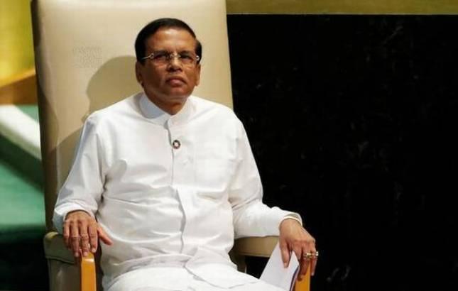 Sri Lankan President Maithripala Sirisena - File Photo