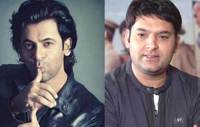 Image result for sunil grover with kapil sharma images