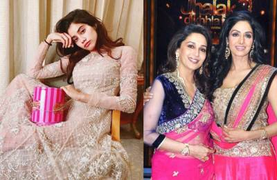 Shiddat: Janhvi Kapoor REACTS to Madhuri Dixit replacing Sridevi in Karan Johar's movie