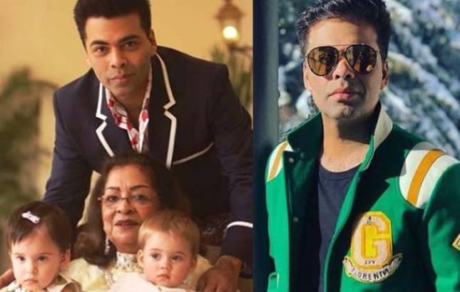 Karan Johar celebrates mom's 75th birthday, shares ADORABLE snap of his family (Source-Karan's Instagram)