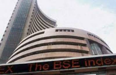 Sensex falls over 100 pts; Nifty tests 10,150