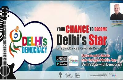 Delhi's Date with Democracy: A mobile app to scout singing, dancing talent