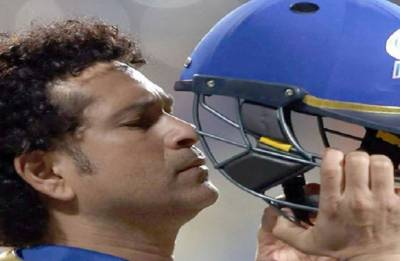 Sachin Tendulkar urges Nitin Gadkari to act against fake helmet makers