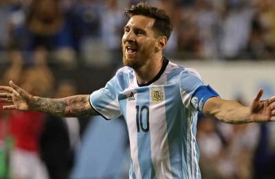Lionel Messi joins Argentina's training camp ahead of World Cup warm-up against Italy