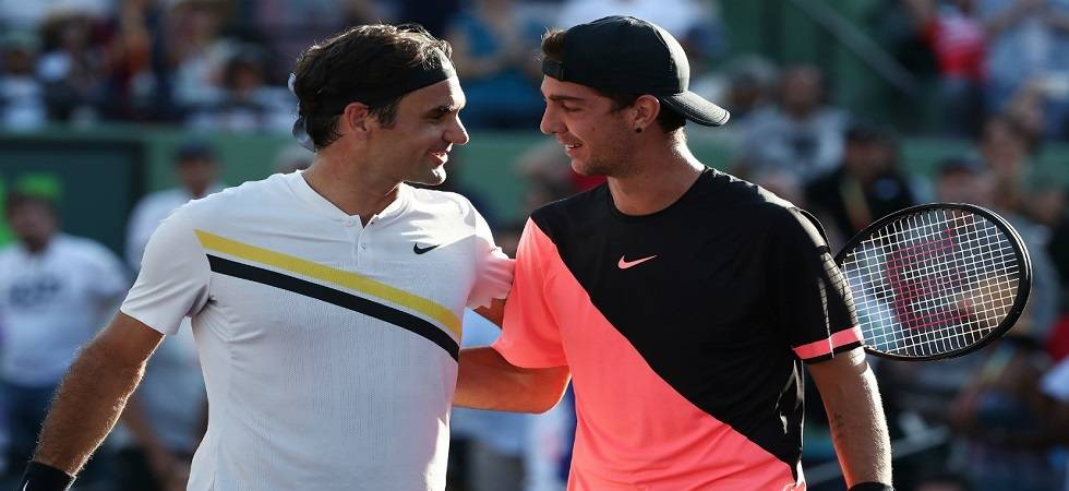 Thanasi Kokkinakis defeated World number one Roger Federer 3-6, 6-3, 7-6(4) in the Miami Open (Image Source: PTI)