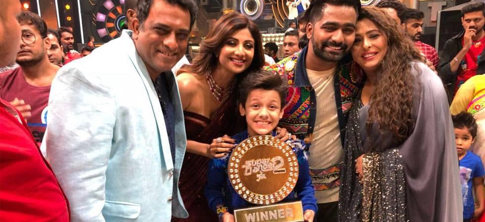Super Dancer Chapter 2: Bishal Sharma takes home winner's trophy (Source- Instagram)