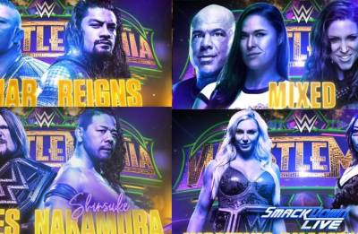 WWE: 11 BLOCKBUSTER matches make Wrestlemania 34 a 'must-watch' event