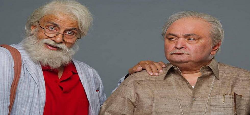 Motion poster of Amitabh Bachchan, Rishi Kapoor starrer '102 Not Out' is out(Source - file pic)