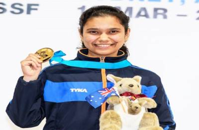 ISSF Junior World Cup: Muskan Bhanwala wins gold after defeating China
