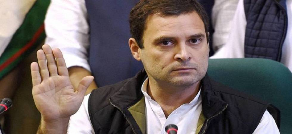 Rahul Gandhi hits out at media for 'cunning twisting of facts' (Image Source: PTI)