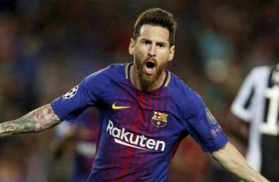 Lionel Messi returns to training for Barcelona after hamstring strain