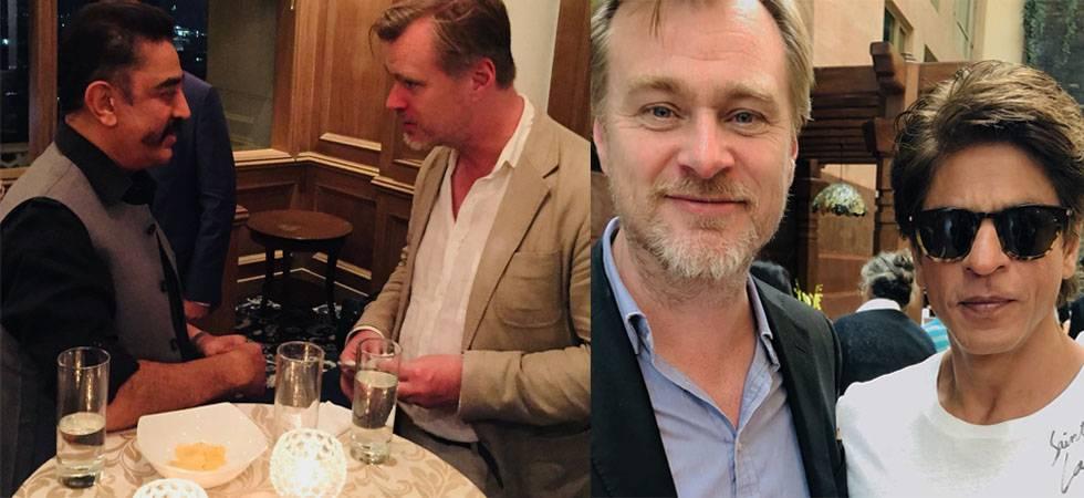 Christopher Nolan in India: Shah Rukh Khan, Kamal Haasan meet Dunkirk director (Source- Instagram)