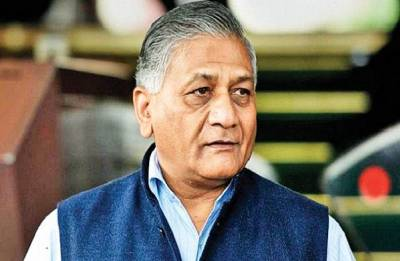 MoS VK Singh leaves for Iraq to bring back mortal remains of 38 Indians