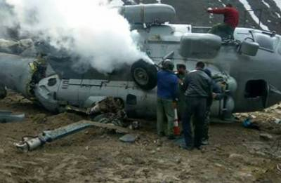 IAF helicopter catches fire near Kedarnath temple, pilot among four injured