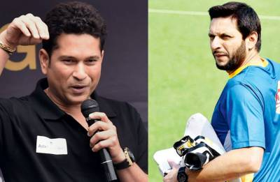 No outsider needs tell us what we need to do, says Sachin Tendulkar on Shahid Afridi's anti-India tweet over Kashmir