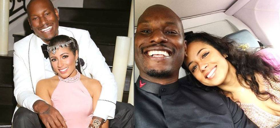 Fast and Furious star Tyrese Gibson with wife Samantha (Source: Instagram)