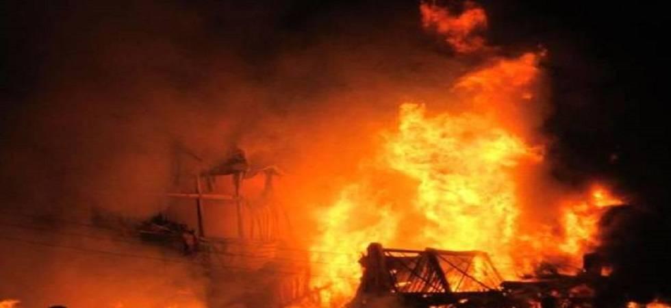 Fire in residential-cum-commercial building in Mumbai - Representative Photo