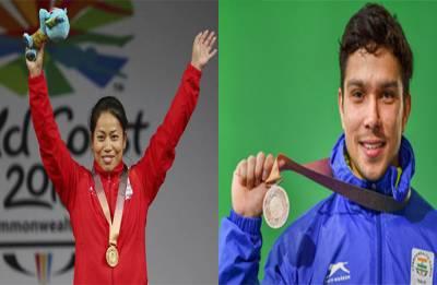 2018 Commonwealth Games   Highlights Day 2: Sanjita Chanu, Deepak Lather grab medals, Shuttlers unbeaten