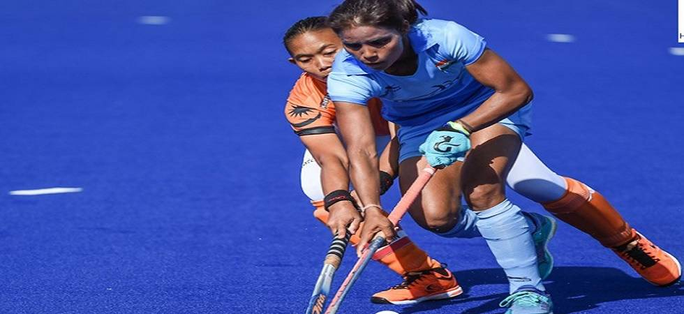 India women thrashes Malaysia in 2nd CWG match(Source - Hockey India Twitter)
