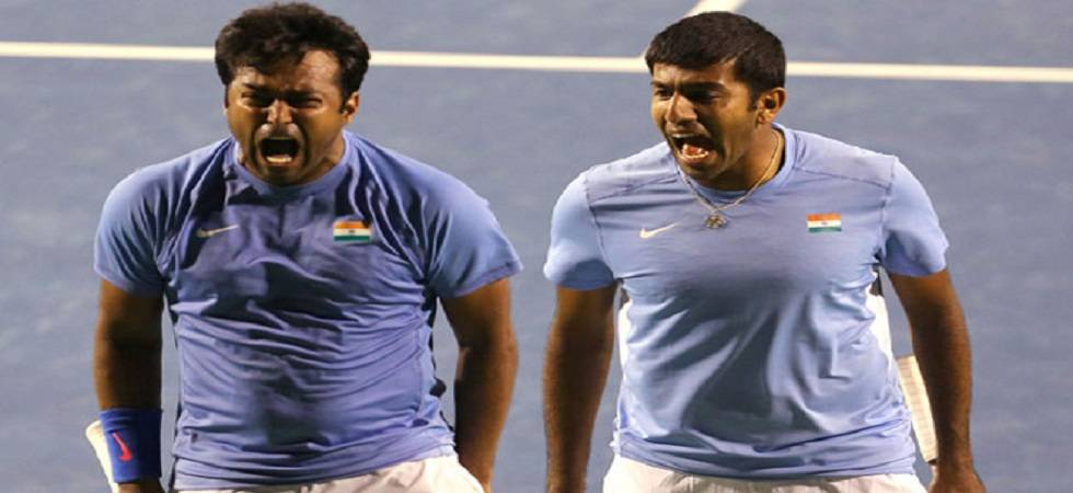 Paes and Bopanna are playing together on the orders by All India Tennis Association (Source: PTI)