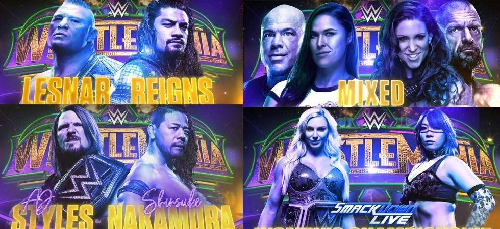 WWE Wrestlemania 34: Matches, start time, timings in India; Here's all you need to know (Source- WWE's Twitter)