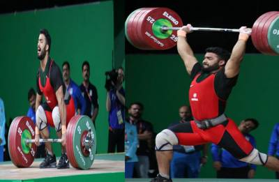 CWG 2018: Weightlifter Vikas Thakur clinches bronze in 94kg category