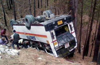 27 students die after school bus falls into 200-feet deep gorge in Himachal Pradesh; CM announces compensation