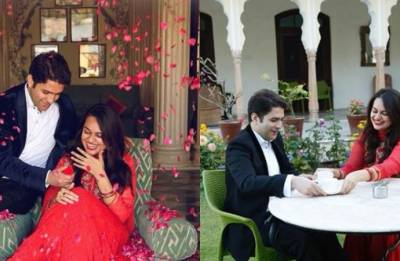 Congratulations!! 2015 IAS toppers Tina Dabi, Athar Aamir Khan take nuptial vows (see pics)