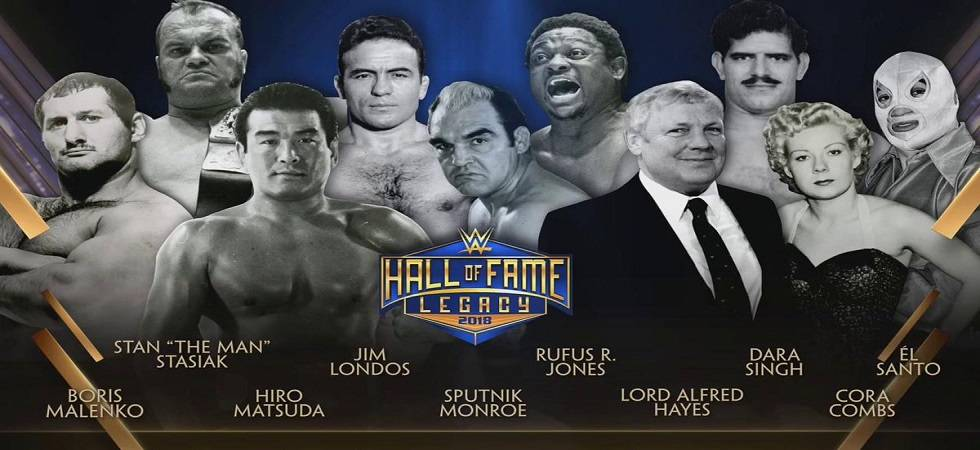 Wrestlemania 34: WWE inducts Indian wrestler Dara Singh in Hall of Fame class of 2018 (Source- WWE)