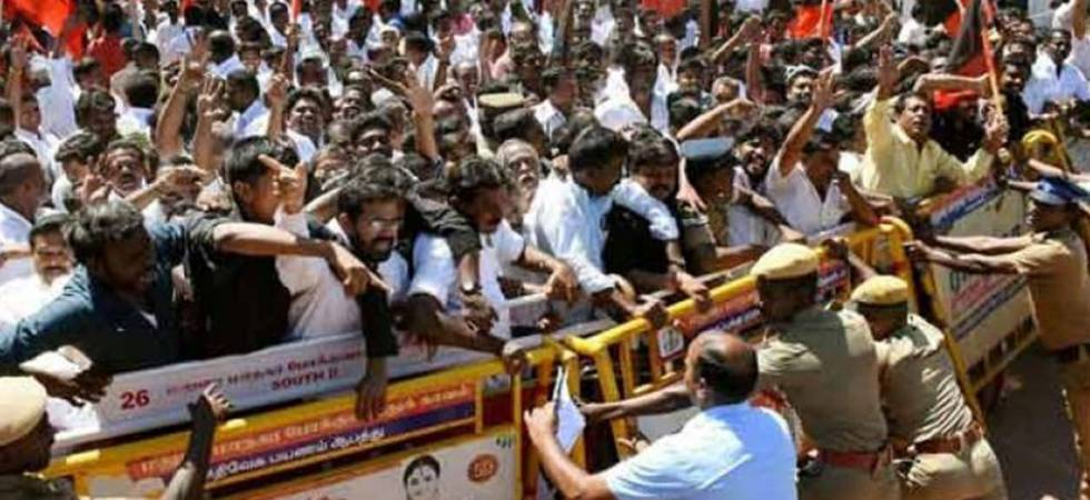 Cauvery row: Massive anti-IPL protests in Chennai; film directors among scores detained (Representative Image)