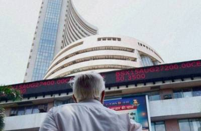 Sensex erases early gains, falls over 100 points