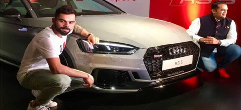 2018 Audi RS5 Coupe launched in India, Virat Kohli becomes the first owner (Source - Audi India Twitter)