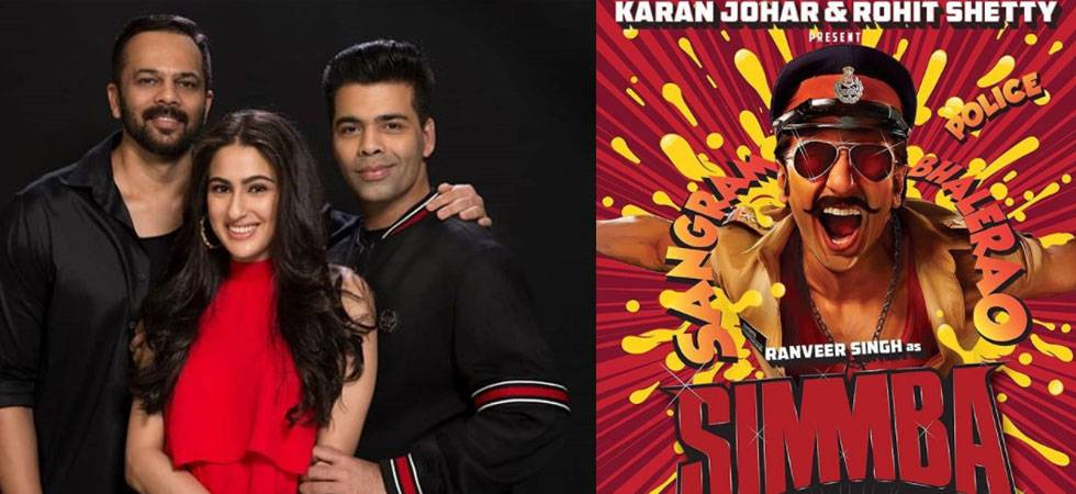 Simmba: Rohit Shetty reveals the reason for signing Sara Ali Khan opposite Ranveer Singh