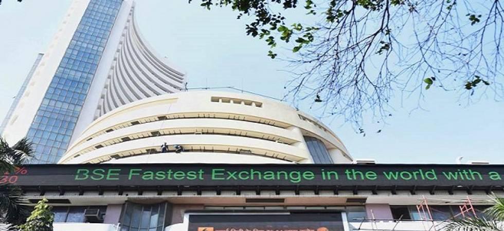 Sensex jumps 91 points on macro data, Nifty closes at 10,480-mark (File Photo)