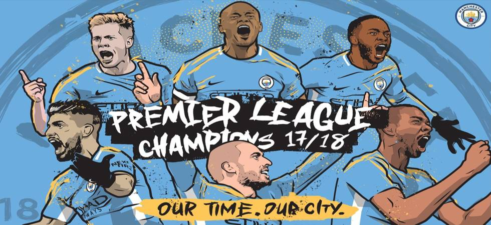 Manchester City are the winners of Premier League 2017-18 (Source: Manchester City twitter)