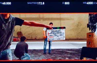 Salman Khan begins shooting for 'BHARAT'